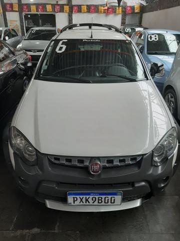 Fiat palio weekend 1.8 mpi adventure///pequena entrada + parcelas fixas 699.00