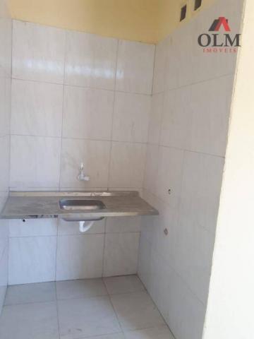 Apartamento com 1 dormitório para alugar, 28 m² por R$ 500/mês - Benfica - Fortaleza/CE - Foto 8