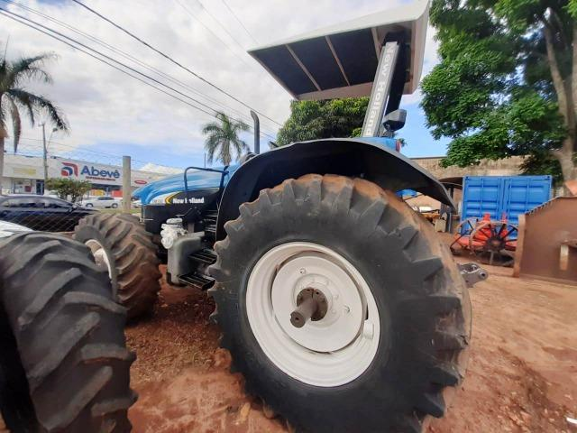Trator New Holland TM 150 ano 2003 - Nova Andradina - MS - Foto 5