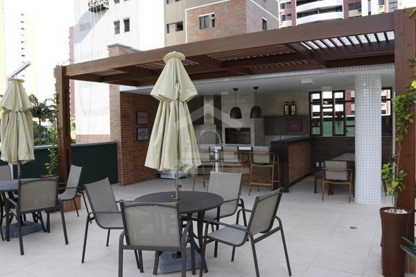 (JG) (TR 11.695), Cocó, 146M², 3 Suites,Dep.Empregada, Sala E/J, V.Gourmet,Lazer - Foto 3