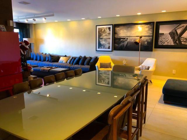 Apartamento com 180 metros, 3 suítes, mobiliado e decorado com vista para o mar - Foto 13
