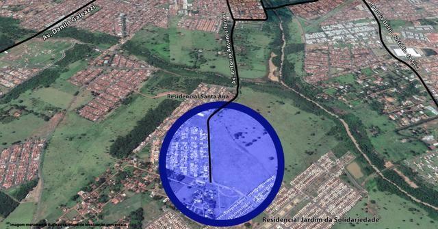 Área para Locação perto do bairro Santa Ana - São José do Rio Preto