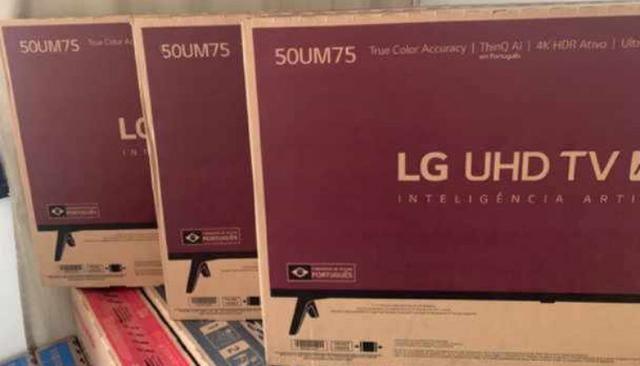 Smart tv 4k lg 50 / novas