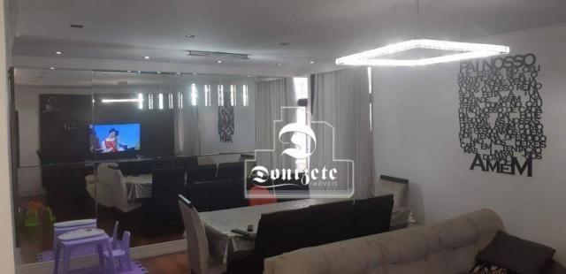 Apartamento com 4 dormitórios à venda, 118 m² por R$ 450.000,10 - Campestre - Santo André/ - Foto 6