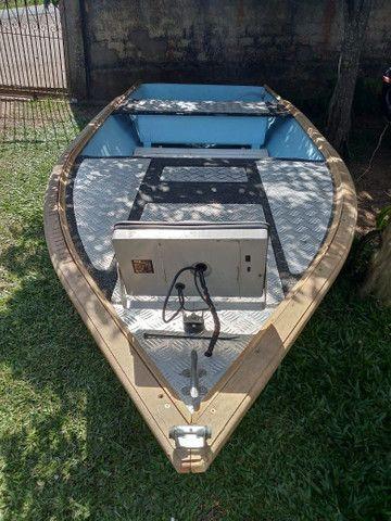 Barco de fibra - Foto 6