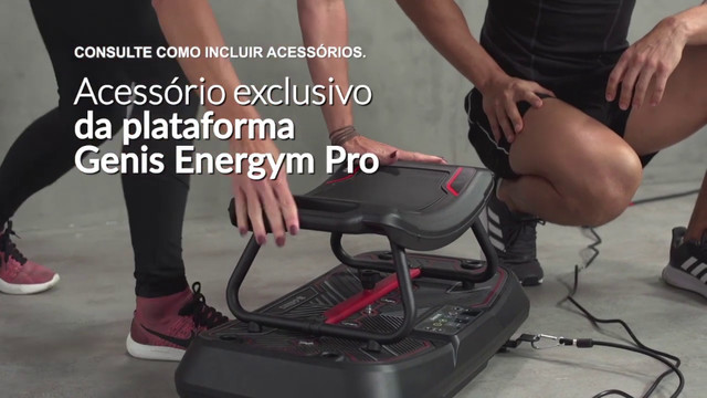 Plataforma Vibratória Genis Energym - Foto 5