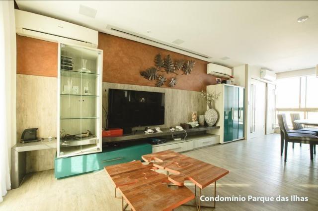 Vendo linda cobertura duplex no parque das ilhas(Porto das Dunas) 164m, toda projetada, po - Foto 14