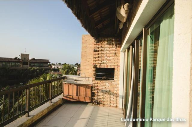 Vendo linda cobertura duplex no parque das ilhas(Porto das Dunas) 164m, toda projetada, po - Foto 13