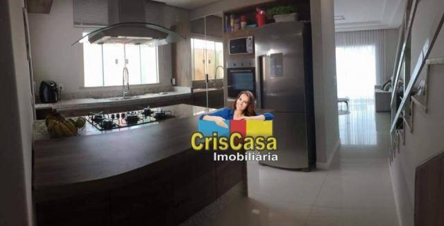 Casa com 4 dormitórios à venda, 132 m² por R$ 380.000,00 - Praia Mar - Rio das Ostras/RJ - Foto 9
