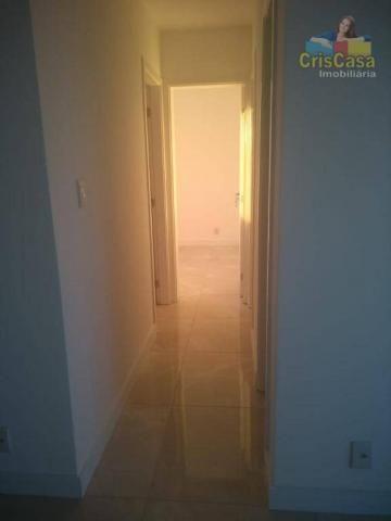 Apartamento com 3 dormitórios para alugar, 100 m² por R$ 1.500,00/mês - Costazul - Rio das - Foto 10