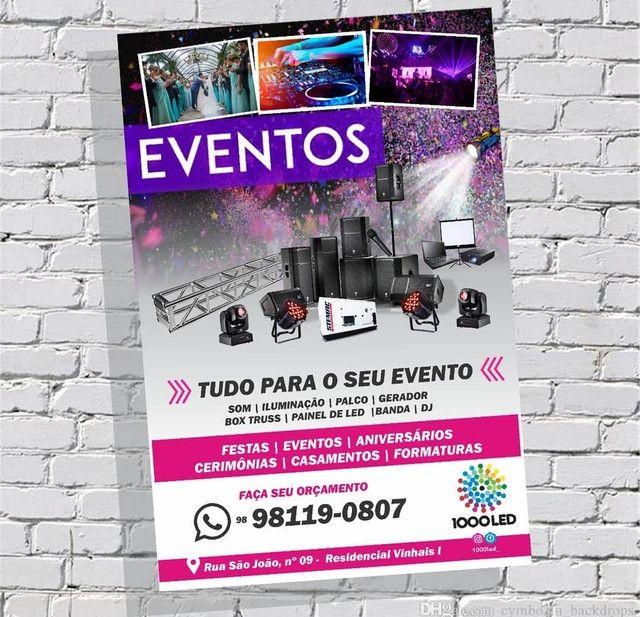 Aluguel de equipamentos para eventos