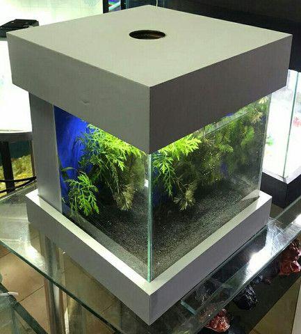 Aquário cubo c/ sump de 30 cmm - Foto 3