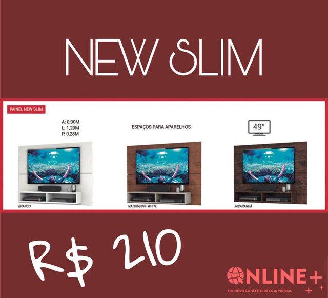 Painéis New Slim- espaço para aparelhos