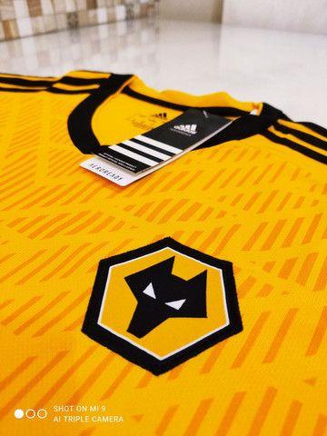 Camisa Wolverhampton Home Adidas 20/21 - Tamanho: G - Foto 4