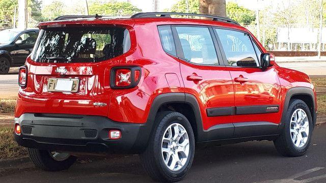 Jeep Renegade Longitude couro revisado impecável! - Foto 2