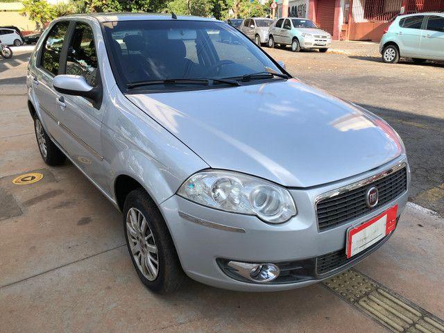 Fiat Palio Attractive Completo 1.0 Flex 4 Portas Prata 2007/08 - Foto 3