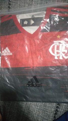 Camisa do Flamengo primeira linha - Foto 4