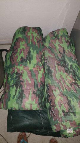 Colchao inflavel Intex e colchonete de Camping - Foto 3