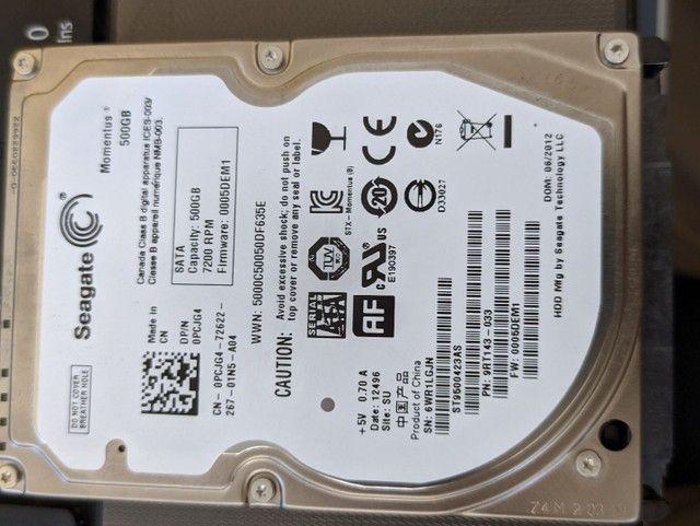 HDD HD Seagate 500 Gb  - Foto 4