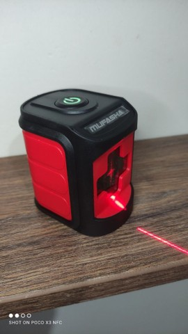 Nível automático a laser (vermelho) -> NOVO - Foto 4