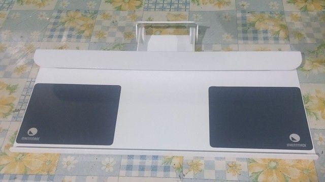 Suporte de parede para teclado e mouse - Foto 2