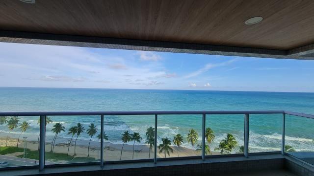 Beira-mar de Maceió, Ed. Riviera, 258m², com varanda gourmet de 25m², área de lazer comple - Foto 4