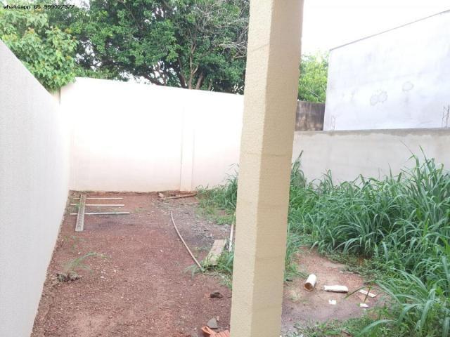 Casa para Venda em Várzea Grande, Jardim Eldorado, 2 dormitórios, 1 banheiro, 2 vagas - Foto 12