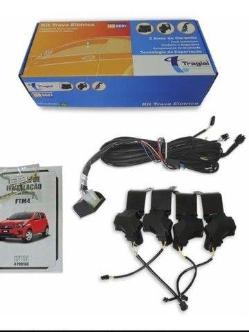 Kit Trava Elétrica Para Fiat Mobi 4 Portas Ftm4 Mn  Tragial - Foto 4