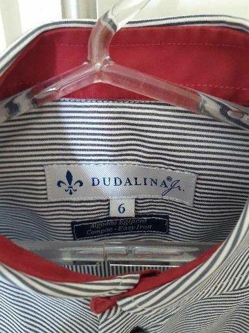 Camisa Dudalina 6 anos - Foto 2