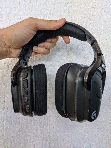 Fone Logitech 933 - PS4 sem fio