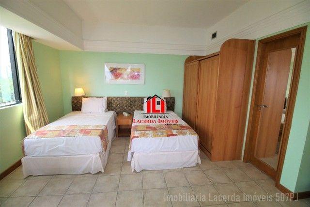 Flat Mobiliado com Vista p Rio no Tropical Hotel 6 Andar - Foto 14