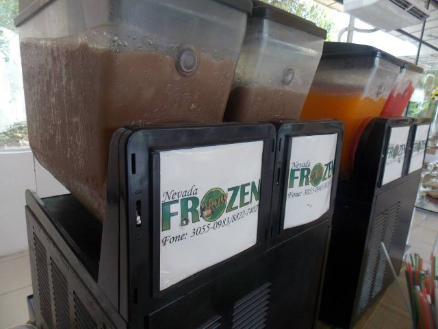Máquinas de Frozen 02 cubas - Nevadinha, raspa raspa - Foto 3