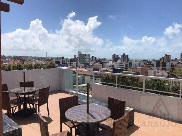 Apartamento com 2 dormitórios para alugar, 54 m² por R$ 1.570,00/mês - Bessa - João Pessoa - Foto 7