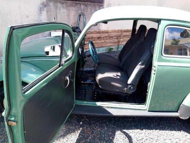 Vendo ou troco Fusca ano 1972 motor 1500 por carro de maior valor.lorr - Foto 4