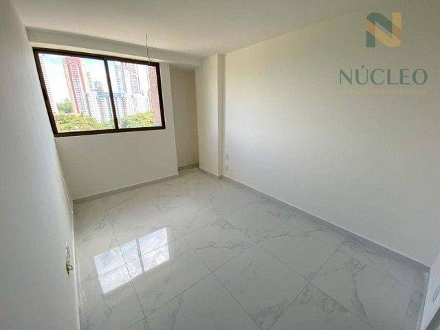 Apartamento com 2 dormitórios à venda, 59 m² por R$ 360.000 - Cabo Branco - João Pessoa/PB - Foto 5