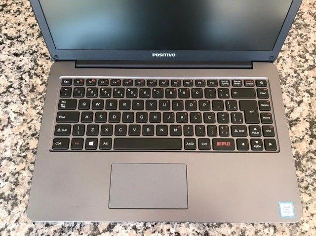 Notebook Positivo Core i3 4GB 1TB Tela 14'' Windows 10 Cobalt Gray - Foto 3