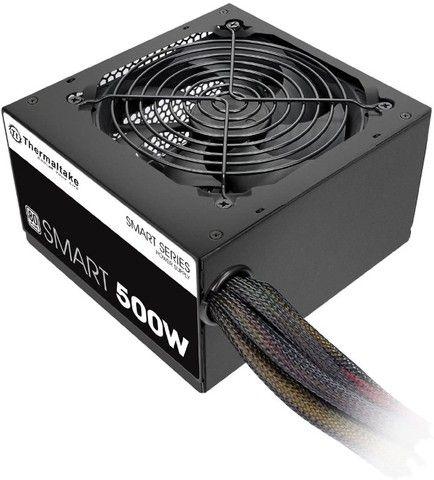 Fonte 500W 80 Plus White,Thermaltake Smart Series,PFC Ativo, Nf e garantia , Entregamos