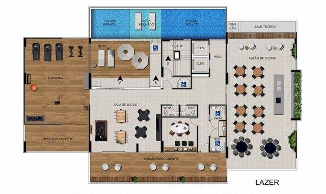 Apartamento para venda possui 64 metros quadrados com 3 quartos em Ponta Verde - Maceió -  - Foto 13