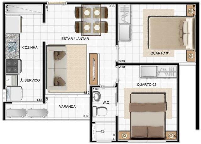 LP/ APTO c/ semi-suite próximo ao Distrito Industrial - Condições Especiais