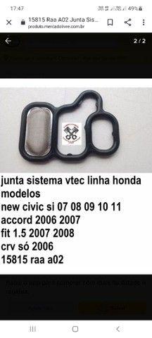 Jogo de junta vtec honda Accord, CR-V, Fit, Civic Si. - Foto 3