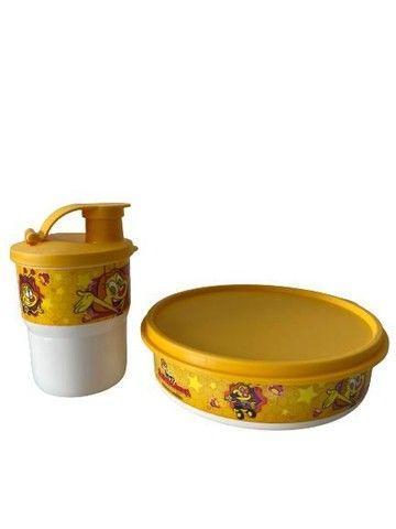 Kit Tupperware Zuzubalândia - pratinho 500ml + copo 225 ml