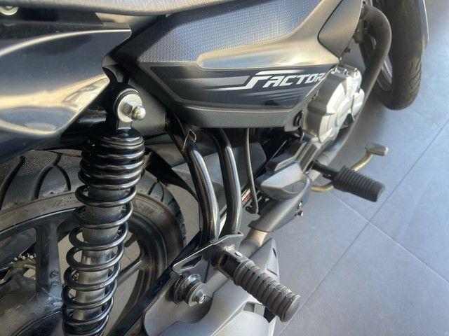 Moto Yamaha factor 125cc 2021 revisada na autorizada  - Foto 13