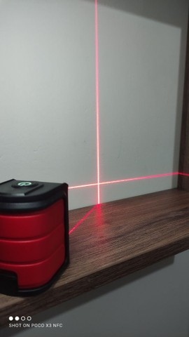 Nível automático a laser (vermelho) -> NOVO - Foto 5