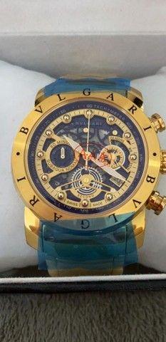 2 Relógios BVLGARI a prova d'água