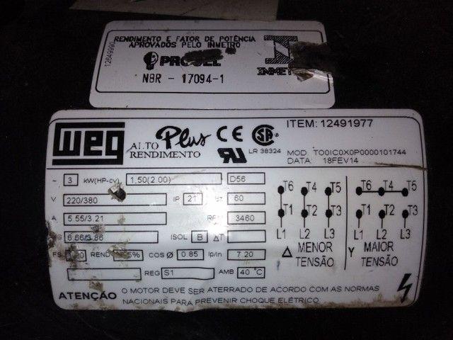 Motor trifásico 2cv - Foto 4