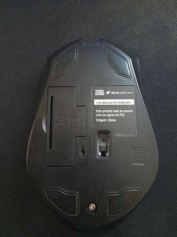 Mouse Gamer sem fio com defeito no scroll - Foto 5