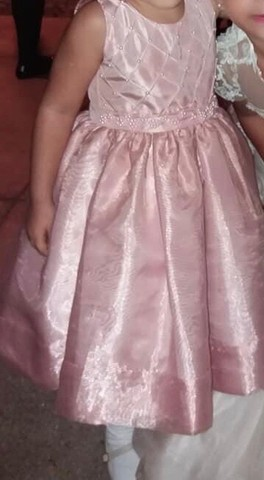 Vestido festa 2 anos