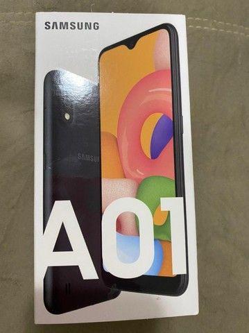 Samsung Galaxy A01 - Vermelho - Foto 2