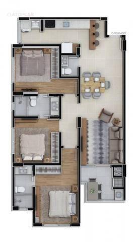 Apartamento com 3 dormitórios à venda, 92 m² por r$ 647.000,00 - fazenda - itajaí/sc - Foto 3