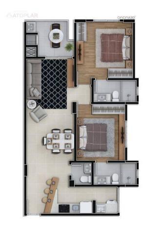 Apartamento com 3 dormitórios à venda, 92 m² por r$ 647.000,00 - fazenda - itajaí/sc - Foto 2